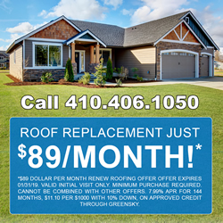 $89 Per Month Roof Replacement